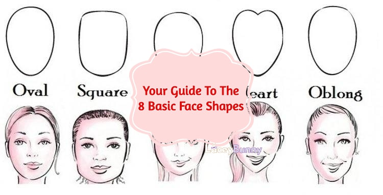 Your Guide To The 8 Basic Face Shapes