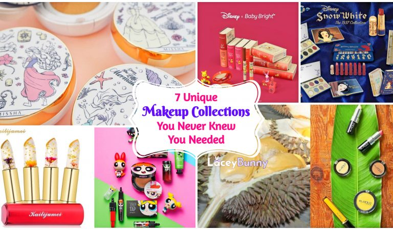 7 Unique Makeup Collections You Never Knew You Needed (Part 1)