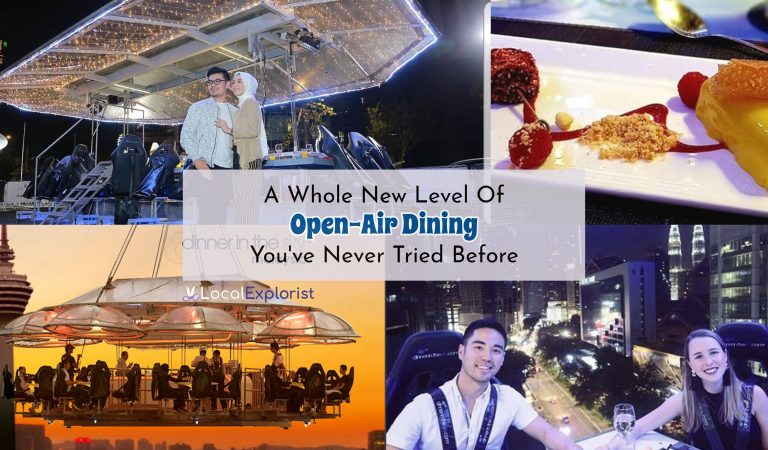 Dinner In The Sky: A Whole New Level Of Open-Air Dining You've Never Tried Before