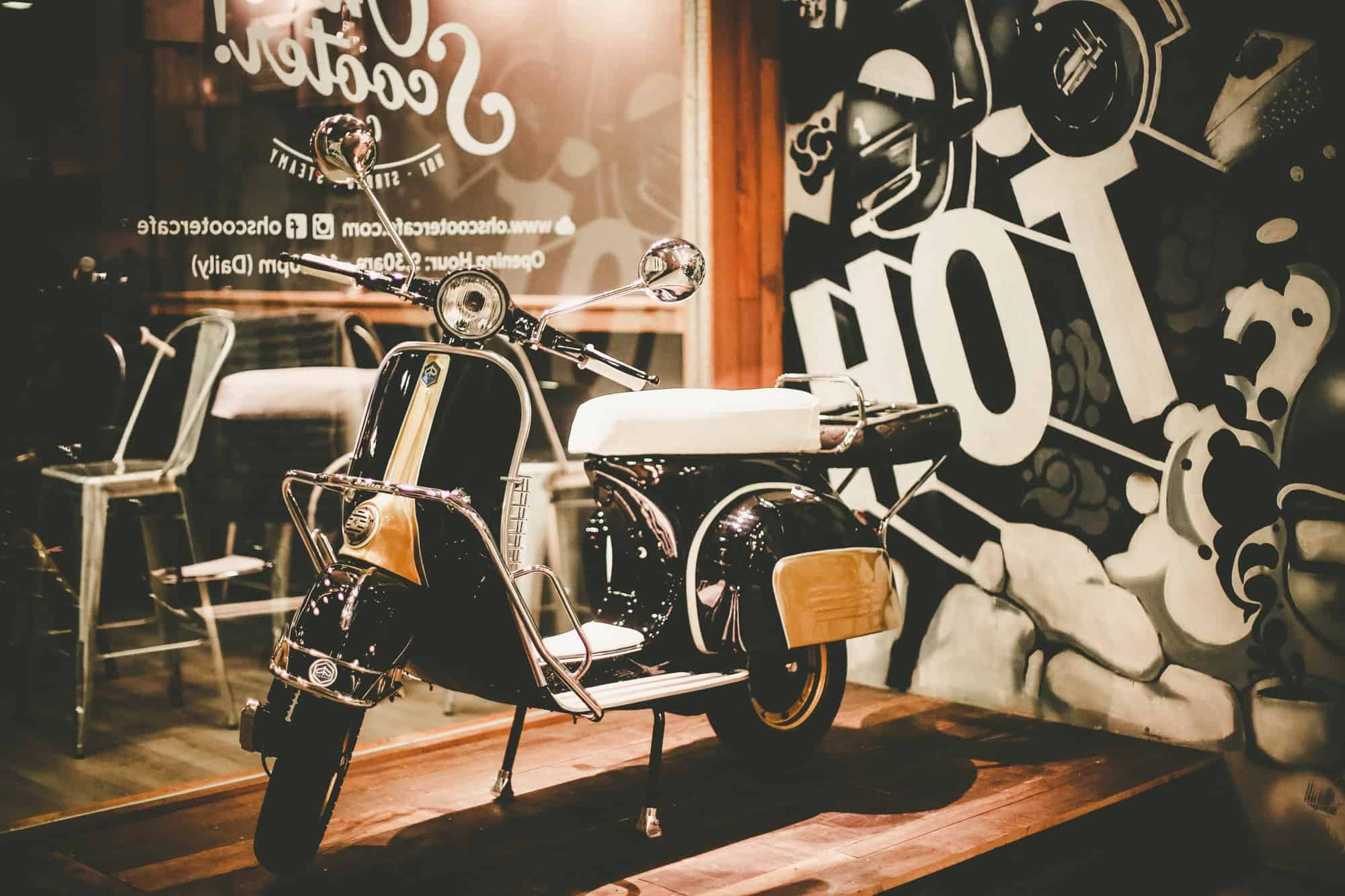 Oh Scooter Cafe