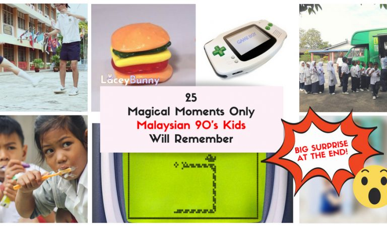 25 #MagicalMoments Only Malaysian 90's Kids Will Remember [BIG SURPRISE At The End!]