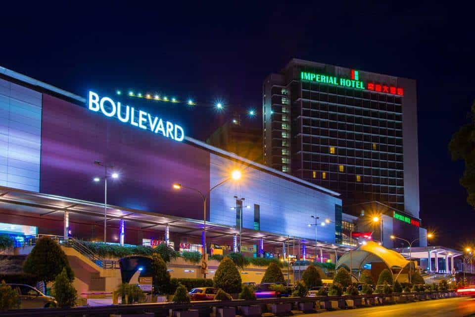 Shopping Malls in Sarawak: Boulevard Shopping Mall Kuching