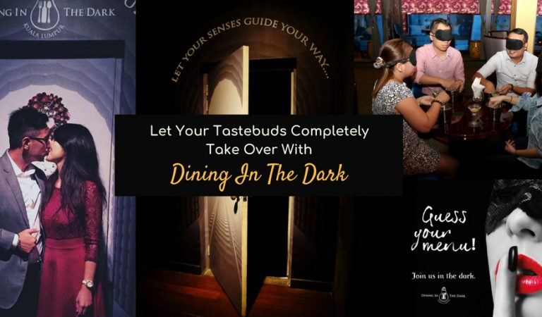 Let Your Tastebuds Completely Take Over With Dining In The Dark!