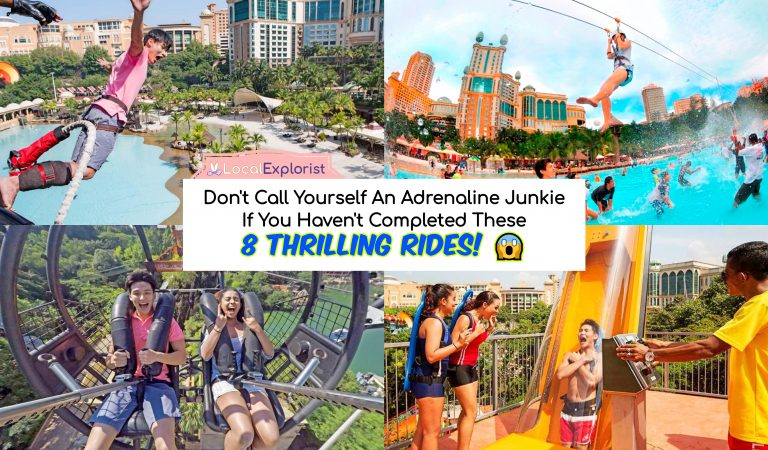 Don't Call Yourself An Adrenaline Junkie If You Haven't Completed These 8 Thrilling Rides in Sunway Lagoon Theme Park!