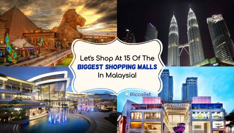Largest & Biggest Malls In Malaysia