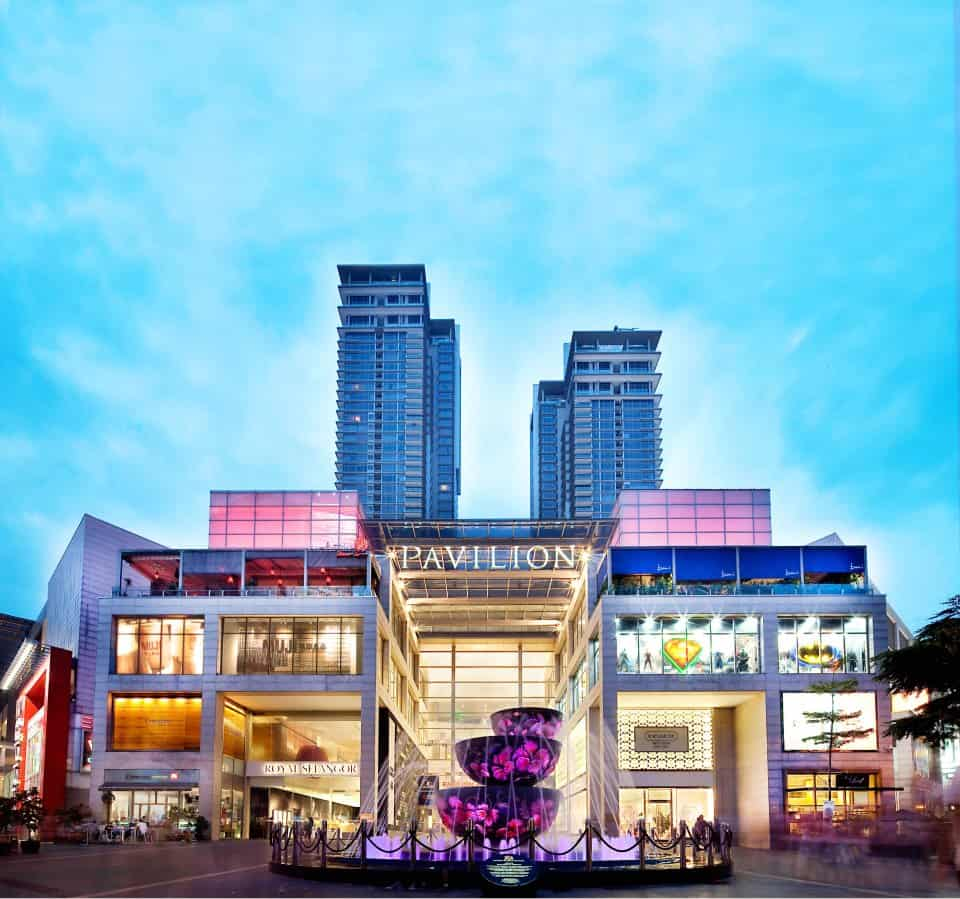 Luxurious Shopping Malls in KL: Pavilion KL