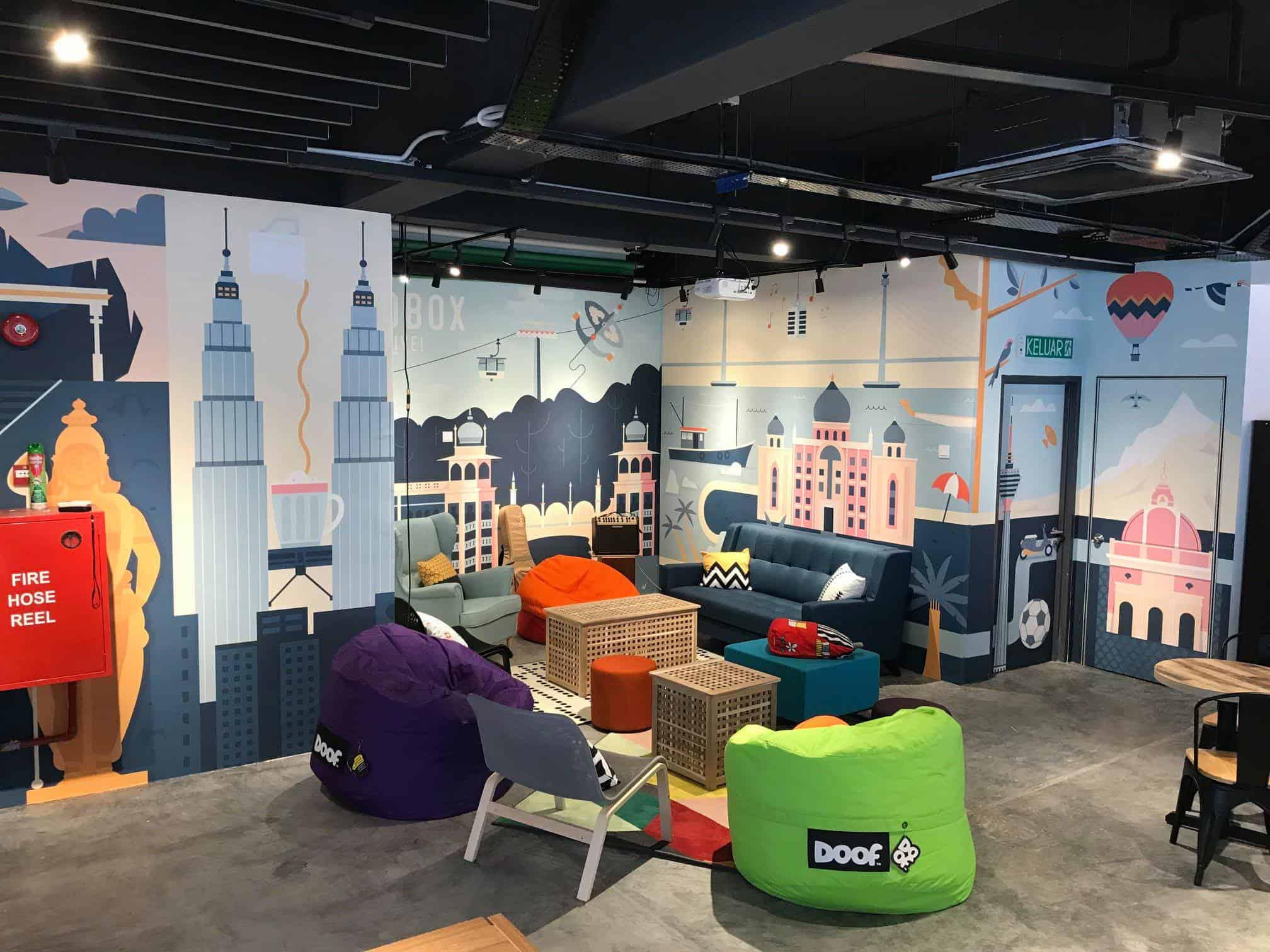 Co-Working Spaces in KL: Sandbox Space