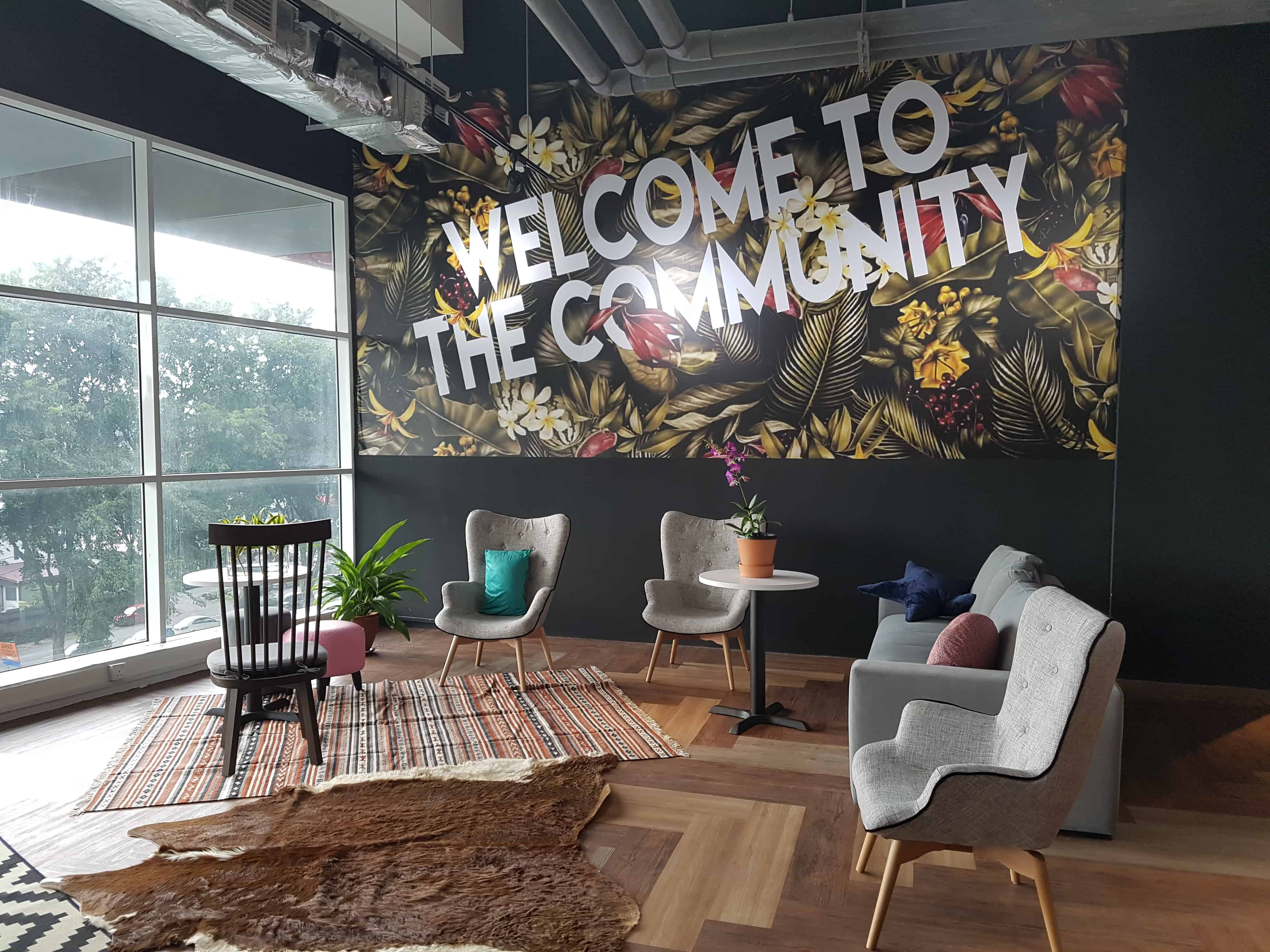 Co-Working Spaces in KL: WORQ