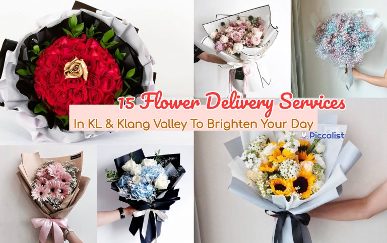 15 Flower Delivery Services In KL & Klang Valley To Brighten Your Day