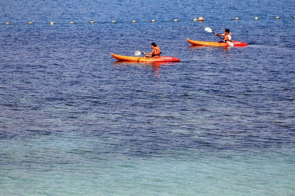 Pulau Rawa Activities: Kayaking