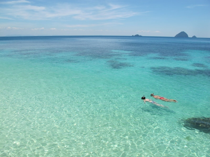 Pulau Rawa Activities: Snorkelling