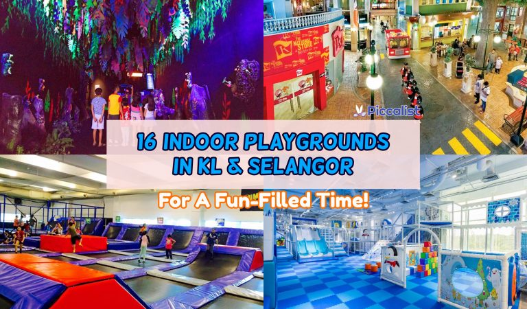 16 Indoor Playgrounds In KL & Selangor For A Fun-Filled Time!