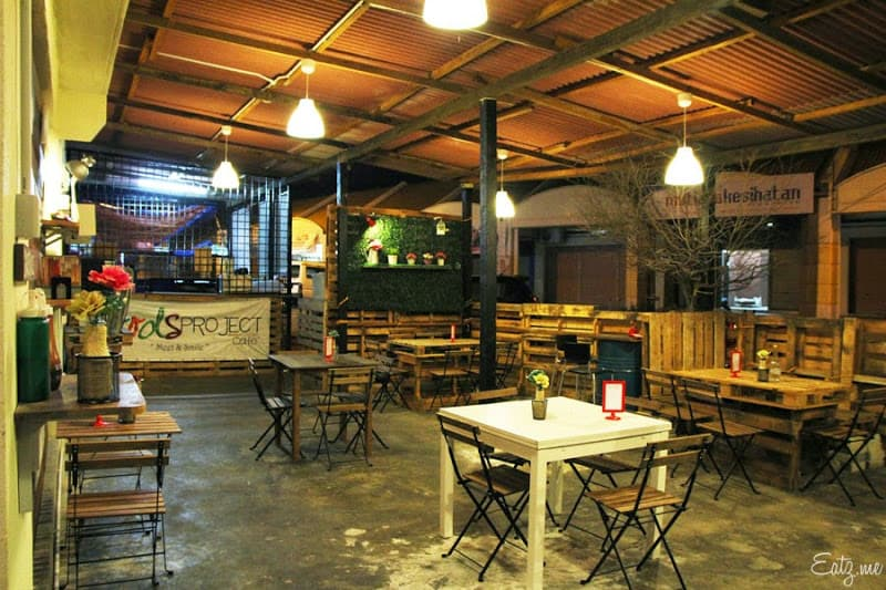 Cafes in Sunway City Ipoh: Foods Project Cafe