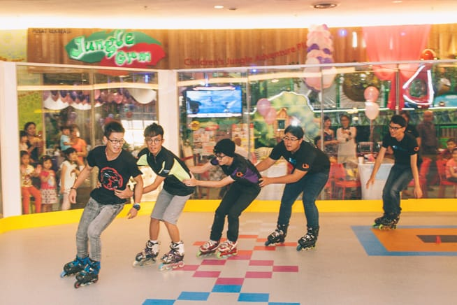Indoor Playground In KL: Jungle Gym & Roller Sports World