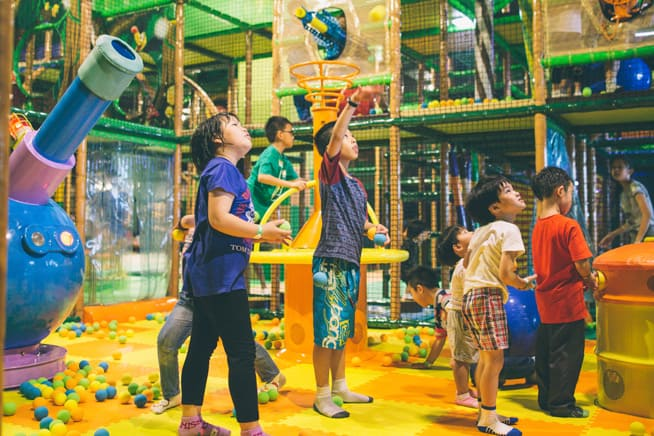 Indoor Playgrounds In PJ: Jungle Gym