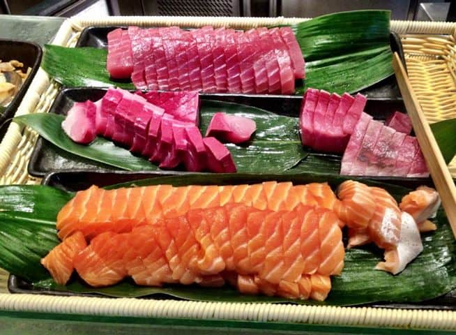 Japanese Buffet in PJ: Kampachi Japanese Buffet, Plaza 33