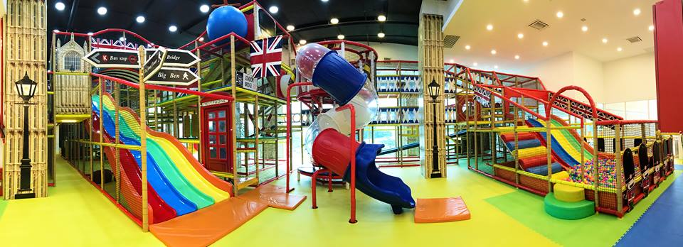 Indoor Playground In PJ: Parenthood Playland