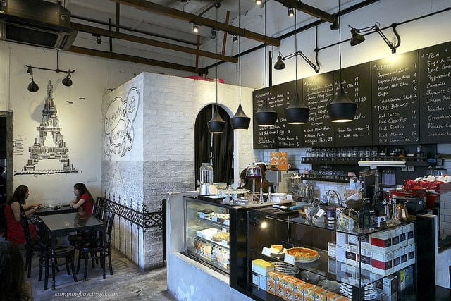 Cafes in Jalan Sultan Yusof, Ipoh: Patisserie Boutique