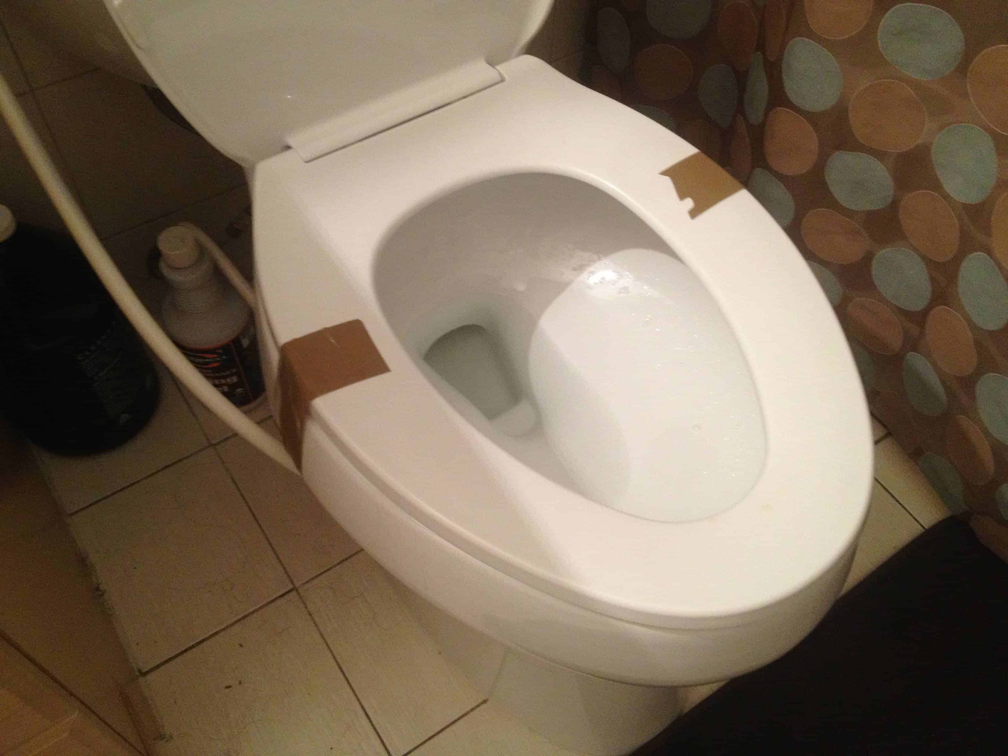 The Position Of The Toilet Seat