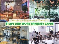 Work Hard, Play Hard At These 12 Study And Work Friendly Cafes