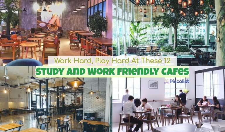 Work Hard, Play Hard At These 12 Study And Work Friendly Cafes In KL & Selangor