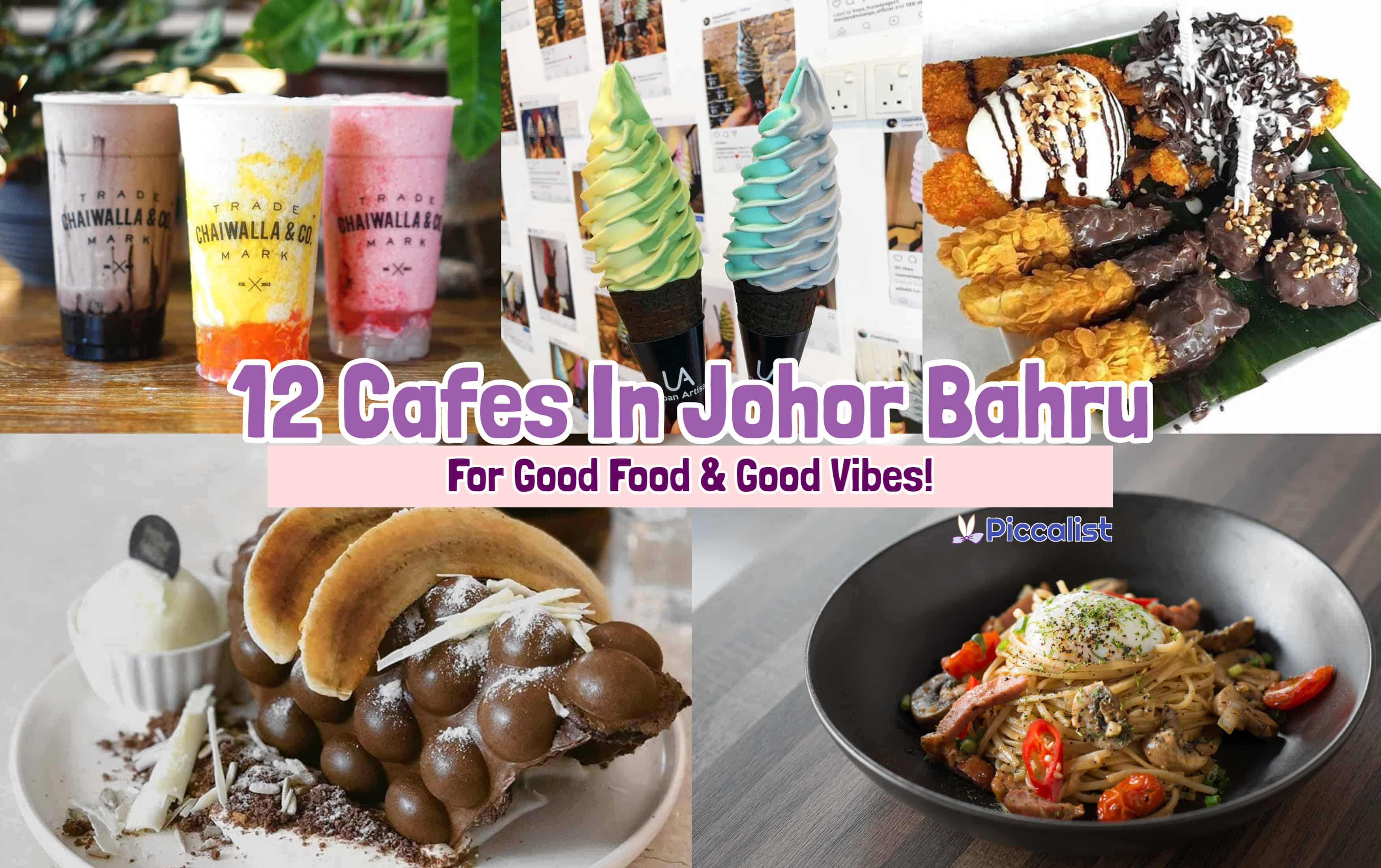 12 Cafes In JB (Johor Bahru) For Good Food & Good Vibes!