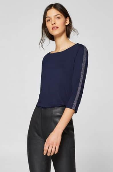 Online Clothes Store Malaysia: Esprit T-Shirts 34 Sleeve