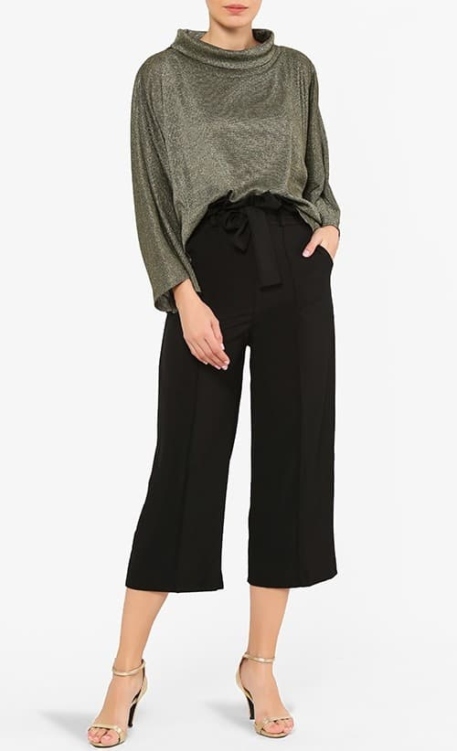 Online Clothing Store Malaysia: Fashion Valet Blubelle Camilla Pants