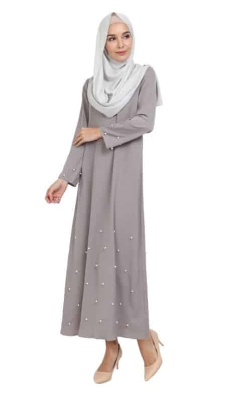 Malaysia Online Boutique: Poplook Saki Pearl Hem Dress