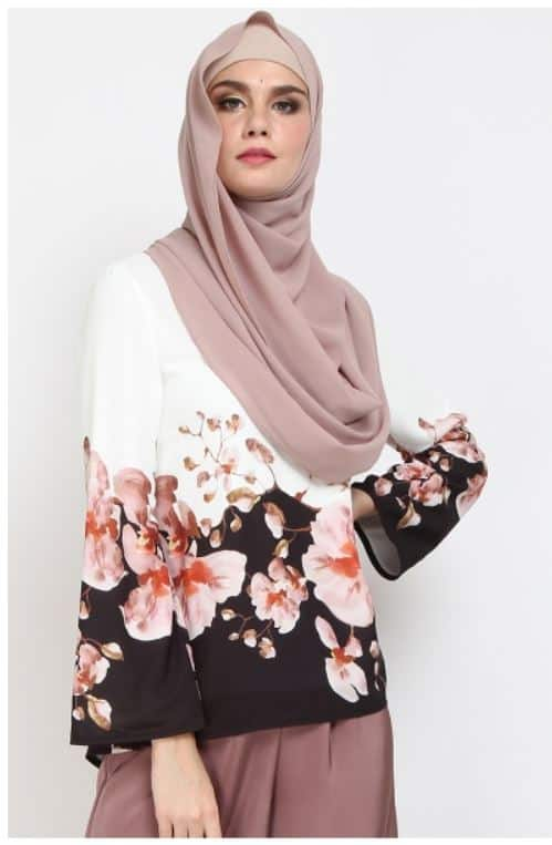 Malaysia Online Boutique: Poplook Edina Flare Blouse