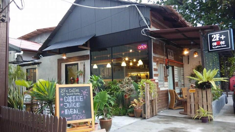 Cafes in Penang Island: 2F+ coffee roastery relau
