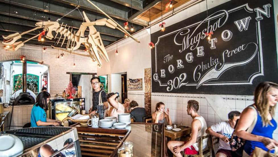 Cafes in Pulau Pinang: The Mugshot Cafe