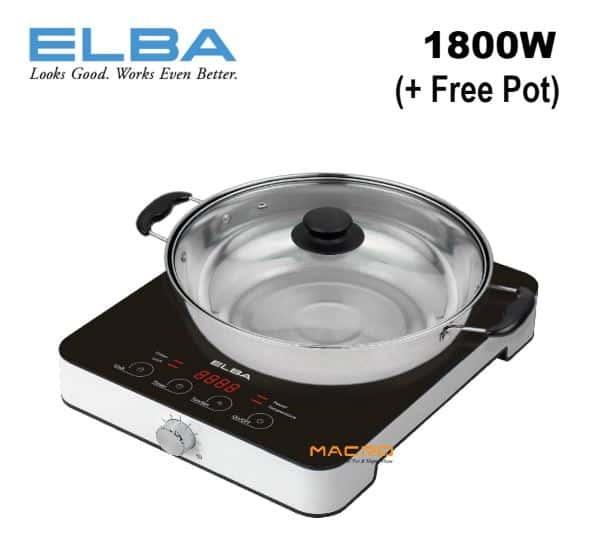 ELBA EIC-G1811(BK) Electric Induction Cooker Malaysia