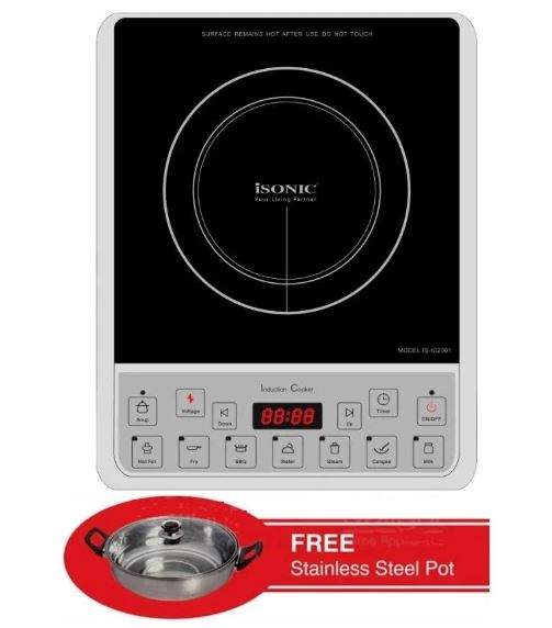 ISONIC IS-IC2001 Induction Cooker Malaysia