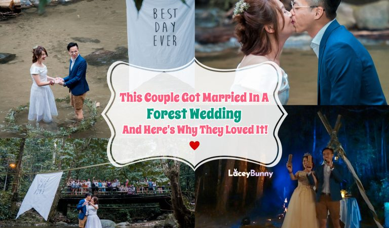 This Couple Got Married In A Forest Wedding And Here's Why They Loved It!