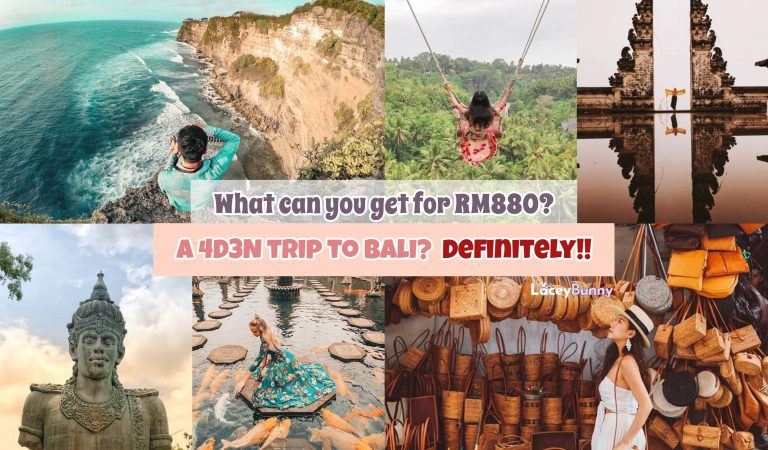 What can you get for RM880? A 4D3N trip to Bali? Definitely!