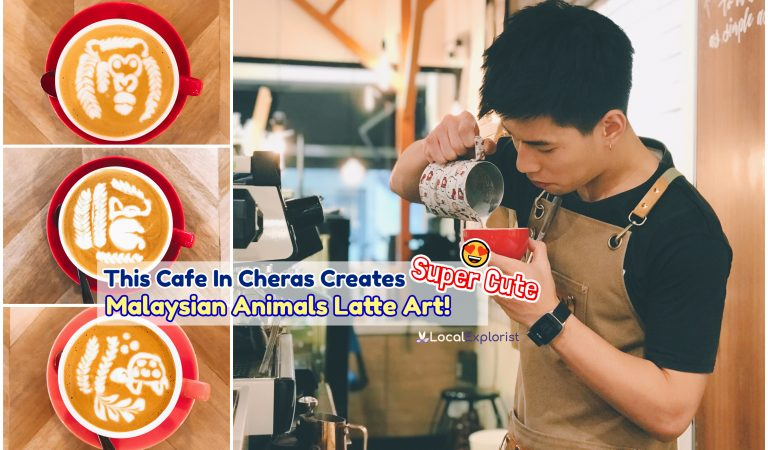 This Cafe In Cheras Creates Super Cute Malaysian Animals Latte Art, Perfect For Merdeka!