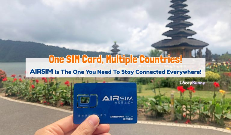 One SIM Card, Multiple Countries. AIRSIM Is The One You Need To Stay Connected Everywhere!