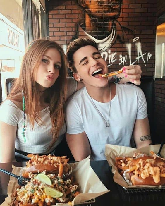 Foodie Couple Goals