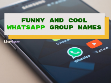 Funny and Cool Whatsapp Names