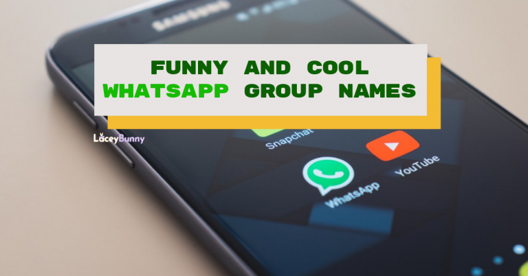 BEST] Cool & Funny WhatsApp Group Names For ALL ASPECTS!
