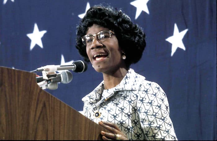American Black Girl Names - Shirley Chisholm
