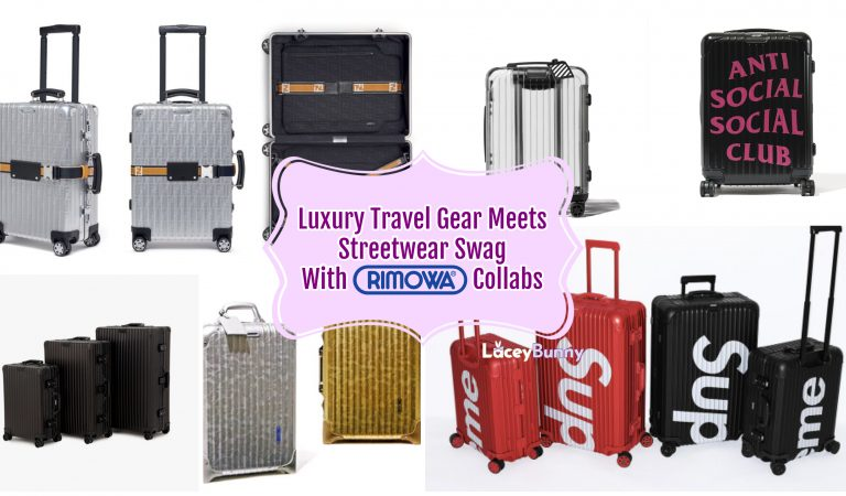 Luxury Travel Gear Meets Streetwear Swag With Rimowa Collabs