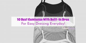 Best Camisoles With Built-In Bra
