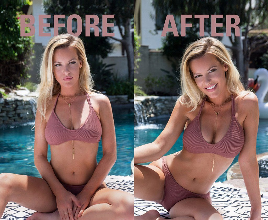 Bra Inserts - Before And After